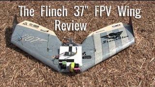 "getlinkyoutube.com-The Flinch 37"" FPV Wing from Sweep Wings"