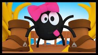 getlinkyoutube.com-Une araignée sur le plancher - Comptine Méli et Touni - Titounis