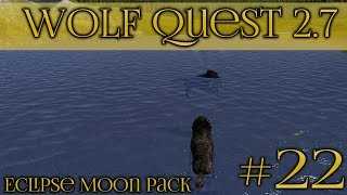 getlinkyoutube.com-Swept Away by the River || Wolf Quest 2.7 - Episode #22