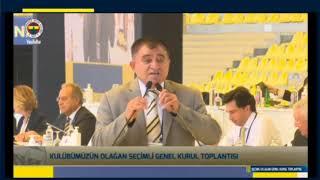 Nevşehirli muhtar Fenerbahçe kongresine damga vurdu!