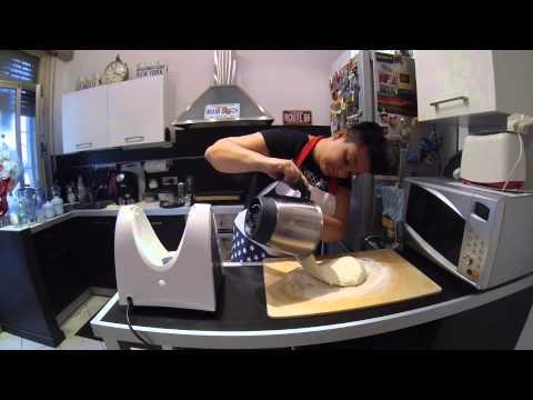 il pane con il bimby: Zoccoletti di pane tipo ciabatta