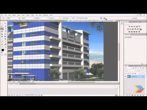 Photoshop CS6 New Features - Crop Perspective tool