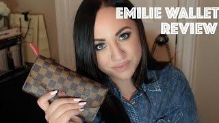 getlinkyoutube.com-Louis Vuitton Emilie Wallet Review