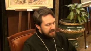 Интервью митрополита Илариона для Подворья и газеты Монитор