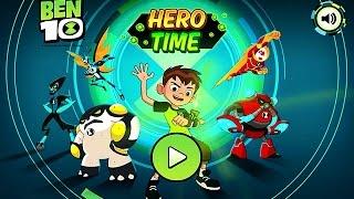 getlinkyoutube.com-BEN 10 - HERO TIME (Chapter 1-3) - Cartoon Network Games