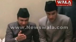 getlinkyoutube.com-Akbaruddin Owaisi along with son Nooruddin Owaisi visited Barhane shah Saab RA Dargha
