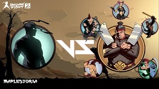 getlinkyoutube.com-SHADOW FIGHT 2 INTERLUDE CHAPTER 9: BOSS FIGHT (All bodyguards + Butcher)