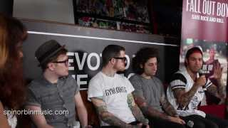 getlinkyoutube.com-Spin or Bin Music Interviews Fall Out Boy!