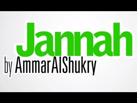 Poem on Jannah | Kinetic Typography | by Ammar Al-Shukry [TDR]