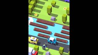 getlinkyoutube.com-Crossy Road: I Got the Robot!!