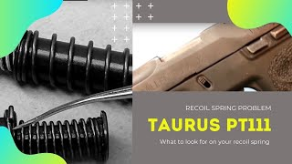 getlinkyoutube.com-Problem 2 recoil spring  FIX Taurus PT111 Millennium G2