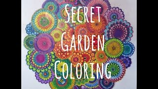 getlinkyoutube.com-Secret Garden Coloring Book