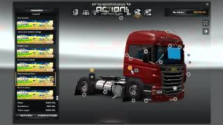 getlinkyoutube.com-Euro Truck Simulator 2 - mod scania r top + link
