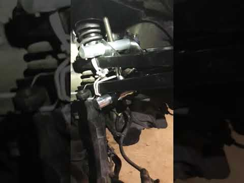 How to lift the crv rd1 front strut part 1