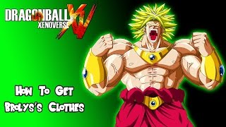 getlinkyoutube.com-Dragon Ball Xenoverse - How to Get Broly's Clothes