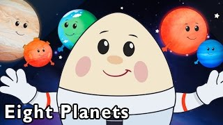 getlinkyoutube.com-Surprise Egg Flies to the Stars | Eight Planets and More | Baby Songs from Mother Goose Club!