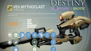 getlinkyoutube.com-Legendary and Exotic Weapons on Destiny (How To Get Weapons on Destiny)