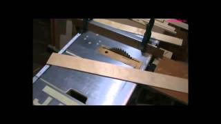 getlinkyoutube.com-Как резать ЛДСП без сколов при сборке мебели  Шина для циркулярной пилы