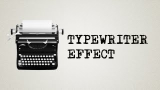 getlinkyoutube.com-Adobe After effects tutorial: Typewriter effect WITHOUT expressions! Possible under 1 minute!
