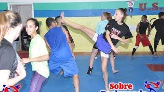 Very Fun Agility Training for Taekwondo (part 1)