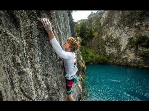 Deep-water soloing in Patagonia - Red Bull Psicobloc - TEASER