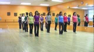 getlinkyoutube.com-Beautiful In My Eyes - Line Dance (Dance & Teach in English & 中文)