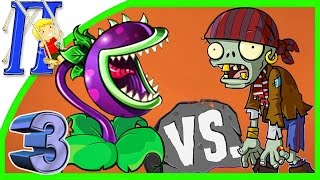 getlinkyoutube.com-ЗОМБИ ПРОТИВ РАСТЕНИЙ Мультик - Игра  Plants vs Zombies game cartoon 3 ч.