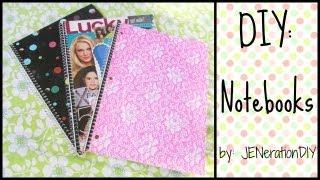 getlinkyoutube.com-Back to School: DIY Notebooks
