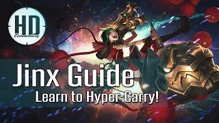 getlinkyoutube.com-Jinx Guide Season 6 - Learn to Hyper-Carry - Runes, Masteries, Item Build - League of Legends