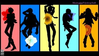 getlinkyoutube.com-【からす 風季 ソラ ぽいよ ラム】Masked bitcH【UTAUCover+PV】