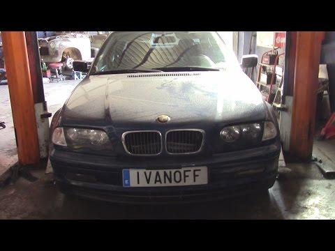 BMW320 E46, замена генератора