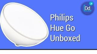 getlinkyoutube.com-Philips Hue Go Wireless Smart Light Unboxed