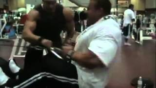 getlinkyoutube.com-Jay Cutler Training   Back and Abs
