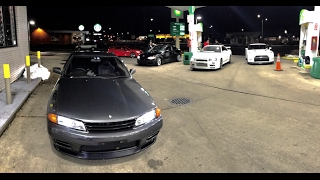 CHASED AN R34 GTR in my R32