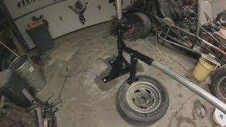 getlinkyoutube.com-How To Build A Homemade Tire Changer From Scrap Metal