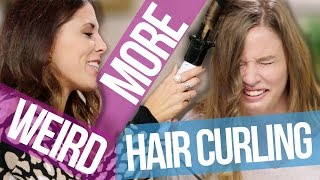 getlinkyoutube.com-5 More Weird Ways to Curl Your Hair