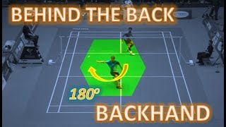 Who is The Masters BEHIND THE BACK BACKHAND Trick Shots?
