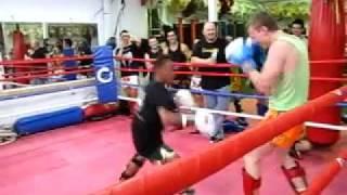 Saenchai - Sydney seminar sparring footage