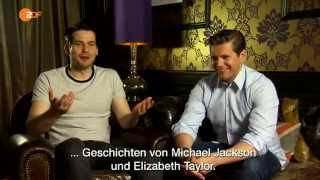 getlinkyoutube.com-Allen Leech and Rob James Collier German interview for ZDF