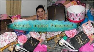 getlinkyoutube.com-Abrindo muitos Presentes! Recebidos da amiga-Olívia Sanches! Por Priscila Rien!