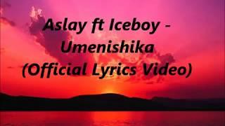 Aslay ft Iceboy New Song - Umenishika (Official Lyrics Video)