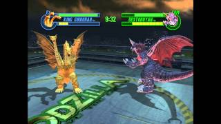 getlinkyoutube.com-Godzilla: Save The Earth - King Ghidorah VS. Destoroyah (BOXING RING)