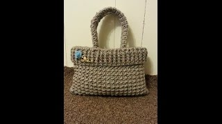 getlinkyoutube.com-CROCHET How To #Crochet womens Handbag Purse #TUTORIAL #175