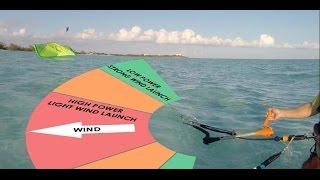 getlinkyoutube.com-How to Kitesurf: Water Re-Launch (Basics)