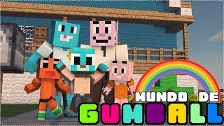 getlinkyoutube.com-Minecraft: MUNDO DE GUMBALL (NOVA SÉRIE!) #1 - Machinima