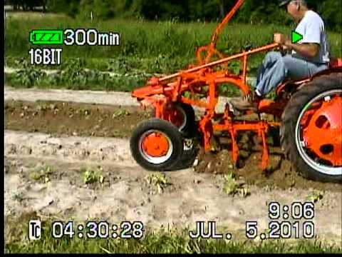 "Allis ""Green"" electric tractor"