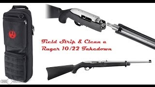 getlinkyoutube.com-Field Strip and Clean a Ruger 10/22 Takedown
