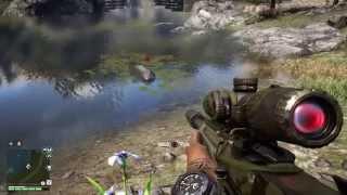getlinkyoutube.com-Far Cry 4 Crocodile and demon fish.