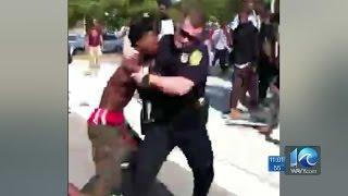 getlinkyoutube.com-Ava Hurdle on brawl at Norview High School