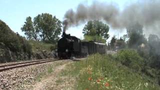 SARDINIAN RAILWAY  STEAM TRAIN.